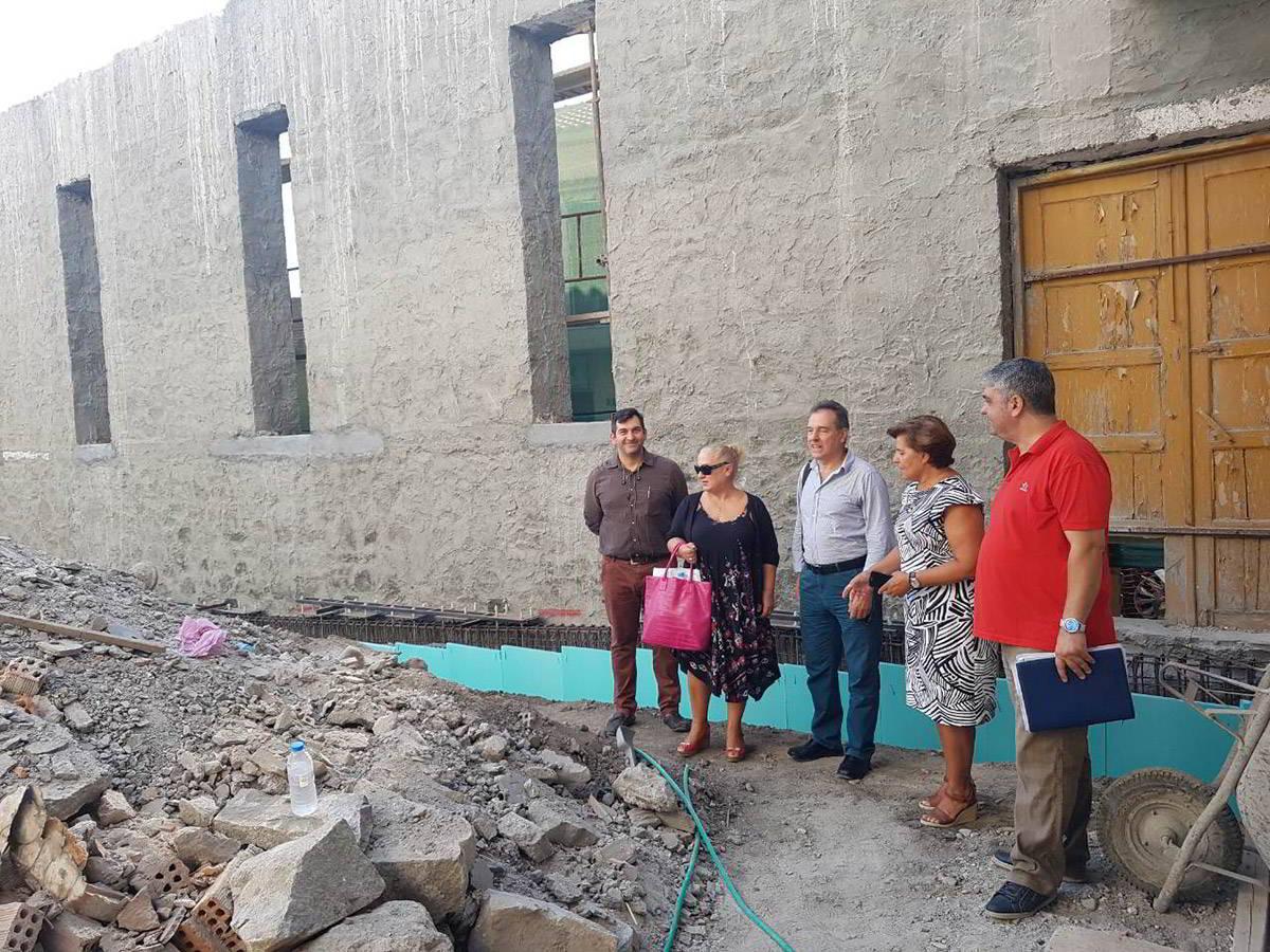 Τον Ιούνιο του 2019 θα έχει ολοκληρωθεί η ανακατασκευή του Γαροφαλλίδειου κτηρίου στη Μύρινα