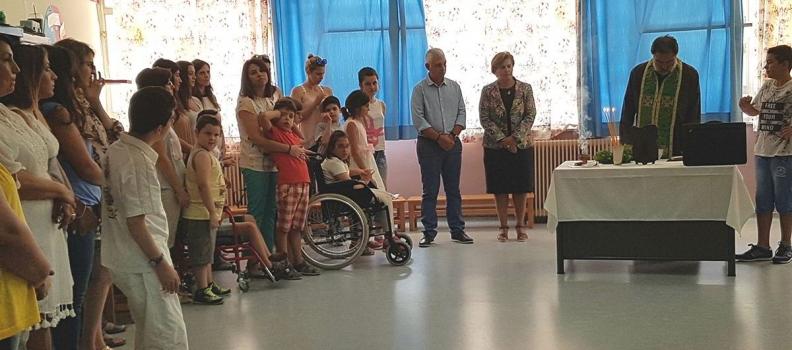 Η Περιφερειάρχης Βορείου Αιγαίου στον αγιασμό στο Ειδικό Δημοτικό Σχολείο της Μυτιλήνης