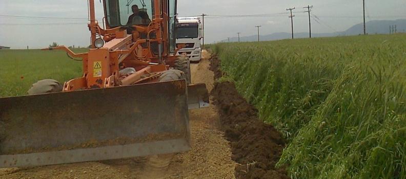 1,7 εκατ. ευρώ στους δήμους της Περιφέρειας Βορείου Αιγαίου για αγροτική οδοποιία