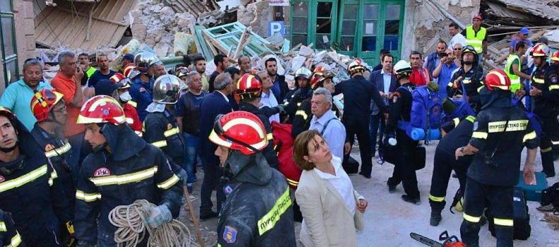 Επανέρχεται η Χριστιάνα Καλογήρου με αιτήματα για τους σεισμόπληκτους της Λέσβου