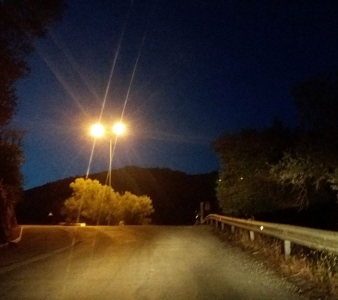 Αναβάθμιση ηλεκτροφωτισμού στο οδικό δίκτυο της Λέσβου