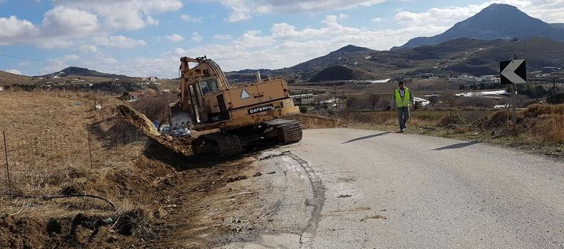 300.00 ευρώ για τη συντήρηση – αποκατάσταση του επαρχιακού οδικού δικτύου της Ανατολικής Λήμνου