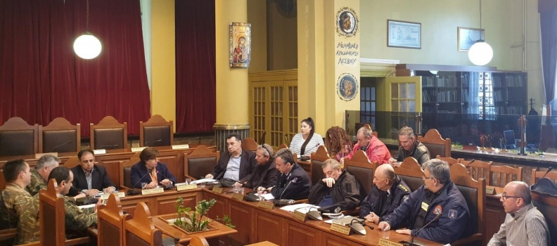 Έκτακτη συνεδρίαση του Συντονιστικού Οργάνου Πολιτικής Προστασίας της Π.Ε. Λέσβου