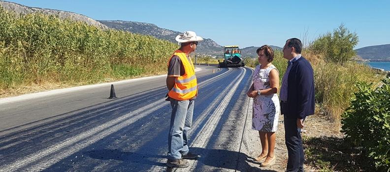 2 έργα σε εξέλιξη και 4 νέα έργα συνολικού Π/Υ 3,7 εκ. ευρώ από την Περιφέρεια Βορείου Αιγαίου για τη συντήρηση του εθνικού & επαρχιακού οδικού δικτύου Λέσβου