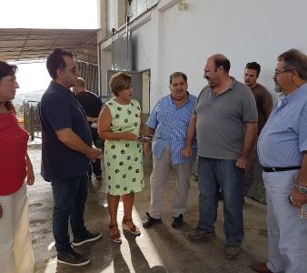 Επίσκεψη της Περιφερειάρχη Βορείου Αιγαίου στον Μανταμάδο