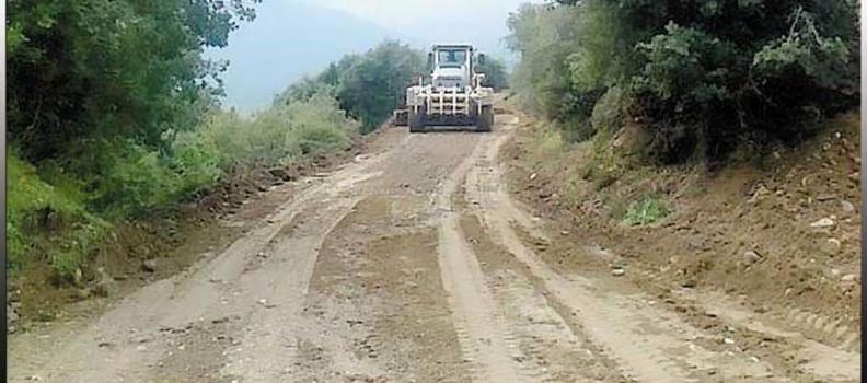 Έργα αγροτικής οδοποιίας σε Σιδηρούντα Χίου, Υδρούσσα και Κονταίικα Σάμου από την Περιφέρεια Βορείου Αιγαίου