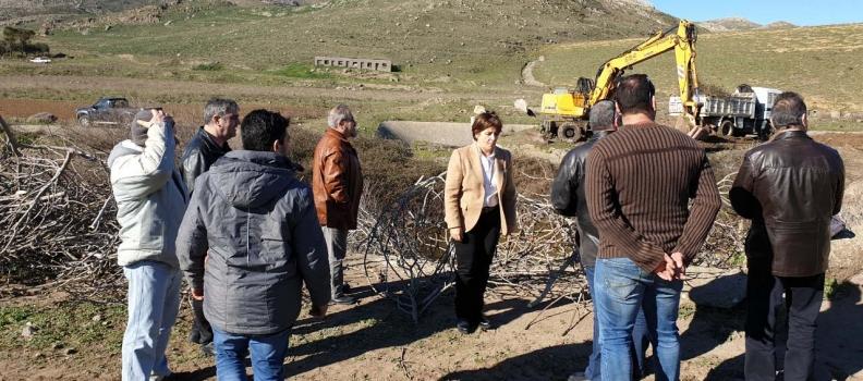 Η Χριστιάνα Καλογήρου σε έργα της Περιφέρειας Βορείου Αιγαίου στη Λήμνο