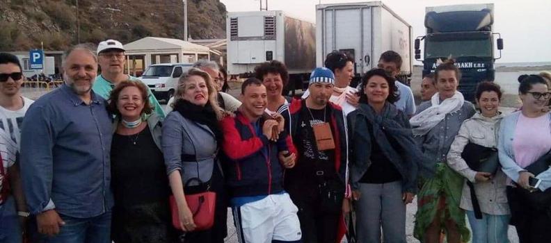Φιλοξενία ρουμάνων τουριστικών πρακτόρων και δημοσιογράφων στη Λήμνο παρουσία της Περιφερειάρχη