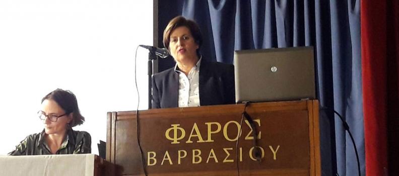 Ομιλία της Περιφερειάρχη για την ανάπτυξη του Κάμπου της Χίου