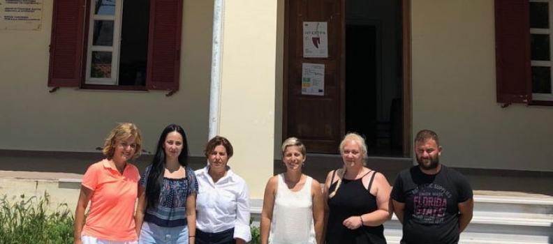 Συνάντηση της Περιφερειάρχη Βορείου Αιγαίου με τη Δήμαρχο Αγίου Ευστρατίου