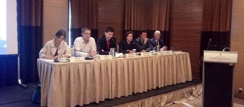 Ομιλία της Χριστιάνας Καλογήρου στο Διεθνές Συνέδριο του Ινστιτούτου Δημοκρατίας «Κωνσταντίνος Καραμανλής» για το προσφυγικό- μεταναστευτικό