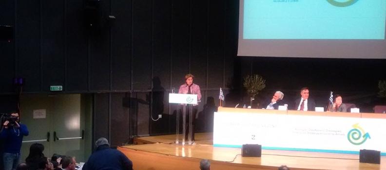 Ομιλία της Περιφερειάρχη Βορείου Αιγαίου σε συνέδριο για τη διαχείριση των απορριμμάτων