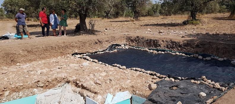 Επίσκεψη της Περιφερειάρχη στην παλαιολιθική ανασκαφή του Λισβορίου
