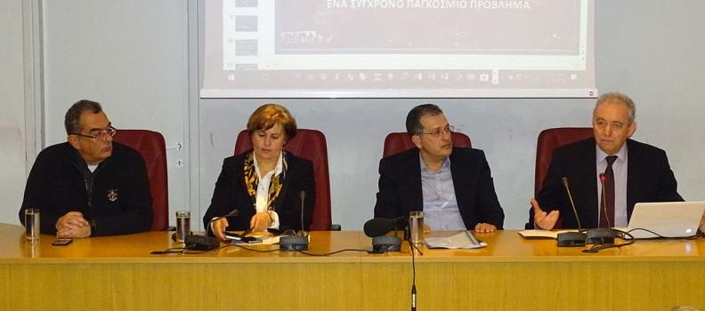 Παρουσίαση ερευνητικών έργων για τη μείωση του πλημμυρικού και κατολισθητικού κινδύνου στη Λέσβο και τη Χίο