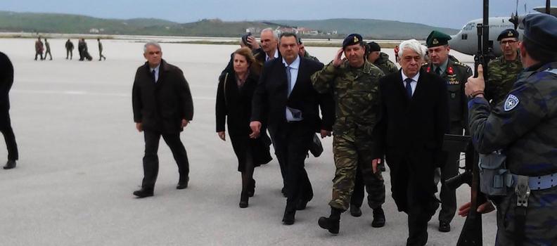 Σύντομος χαιρετισμός της Περιφερειάρχη κατά την υποδοχή του Προέδρου της Δημοκρατίας στη Λήμνο
