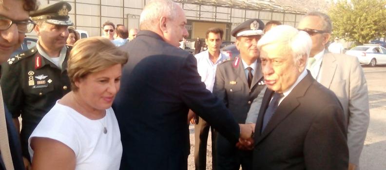 Προσφώνηση της Περιφερειάρχη Βορείου Αιγαίου κατά την υποδοχή του Προέδρου της Δημοκρατίας στη Σάμο