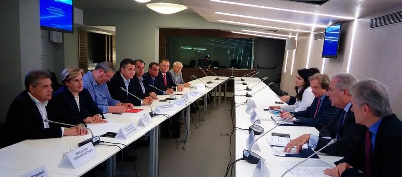 Προτάσεις για την αντιμετώπιση του μεταναστευτικού κατέθεσε η Περιφερειάρχης στον Επίτροπο Μετανάστευσης κ. Δημήτρη Αβραμόπουλο
