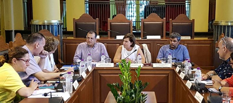 Συνάντηση Καλογήρου-Βλαζάκη για τα έργα ανάδειξης της πολιτιστικής κληρονομιάς του Βορείου Αιγαίου