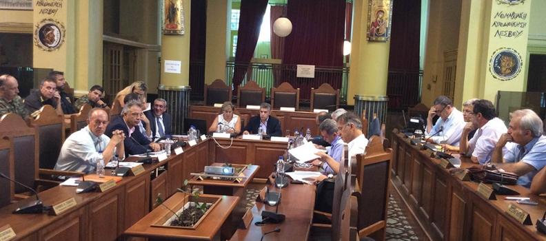 Εισήγηση της Περιφερειάρχη στη συνεδρίαση της ΕΝΠΕ για το μεταναστευτικό