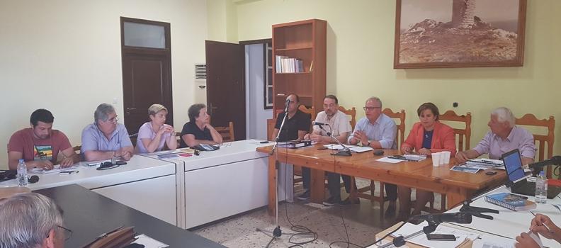 Συνεδρίαση για τις ΟΧΕ μικρών νησιών στην Ικαρία