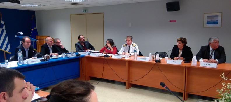Στη συνεδρίαση του ΣΑΣ η Περιφερειάρχης για τη σύνδεση των νησιών του Β. Αιγαίου με τη Θεσσαλονίκη