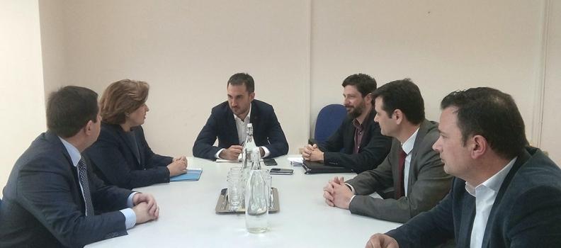 Σύσκεψη για την υποστήριξη της επιχειρηματικότητας στα νησιά του Βορείου Αιγαίου
