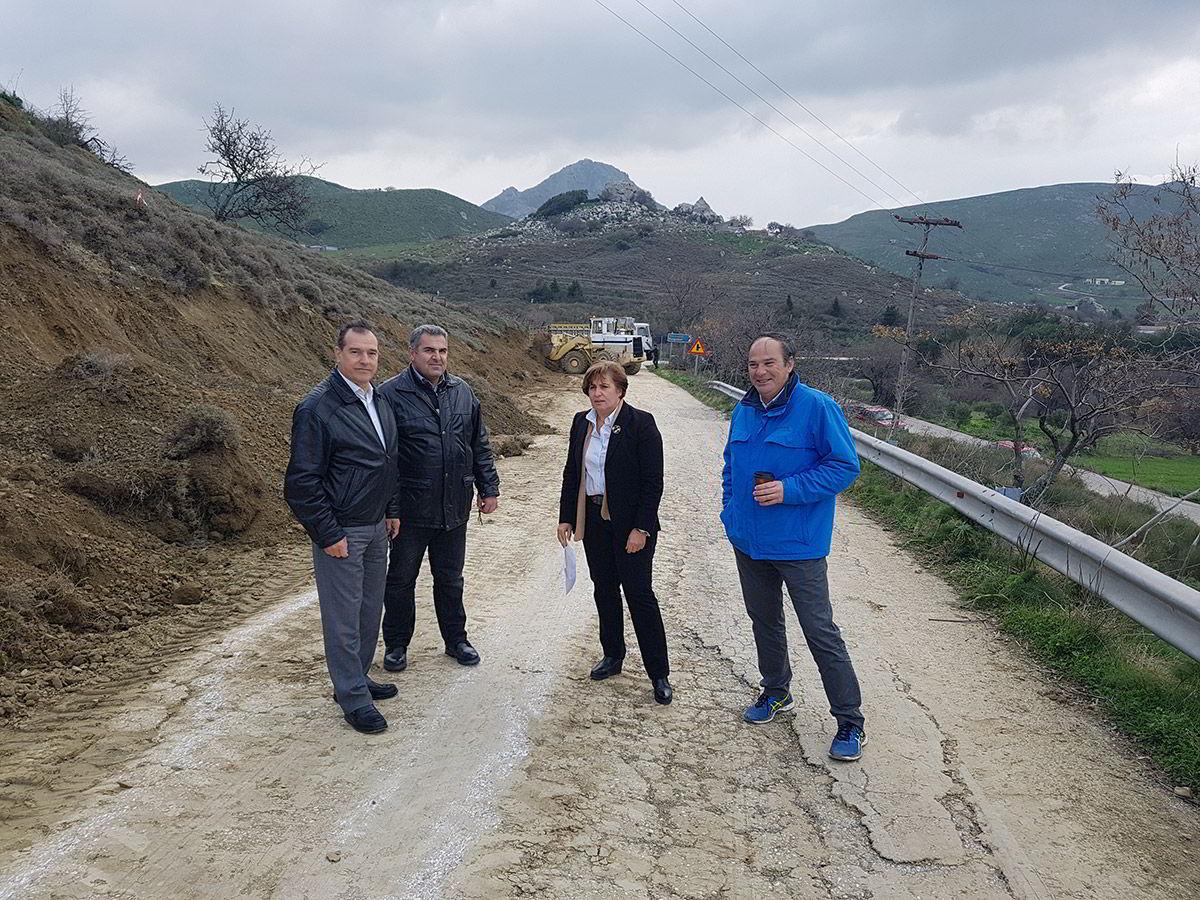 Επίσκεψη της Περιφερειάρχη Βορείου Αιγαίου στη Λήμνο
