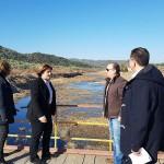 Η Περιφερειάρχης σε έργα αντιπλημμυρικής προστασίας της νότιας Λέσβου