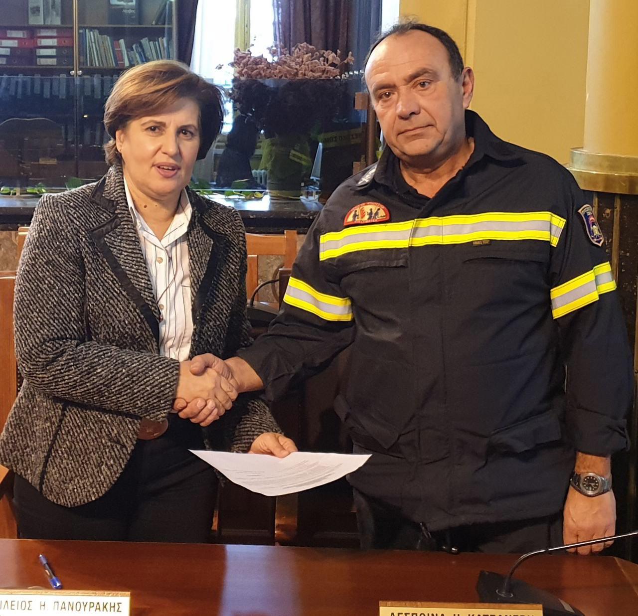 Η Περιφέρεια Βορείου Αιγαίου στηρίζει τις εθελοντικές οργανώσεις