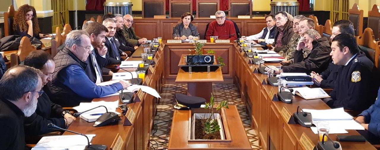 Σύσκεψη για τη διοργάνωση ασκήσεων διαχείρισης εκτάκτων καταστάσεων