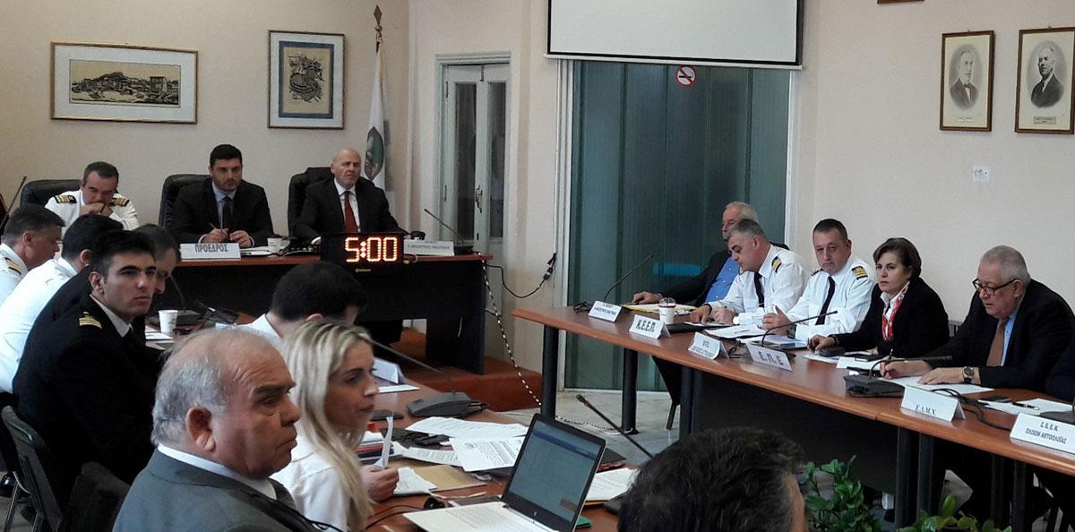Τα προβλήματα της ακτοπλοϊκής συγκοινωνίας των νησιών έθεσε στη συνεδρίαση του ΣΑΣ η Περιφέρεια Βορείου Αιγαίου