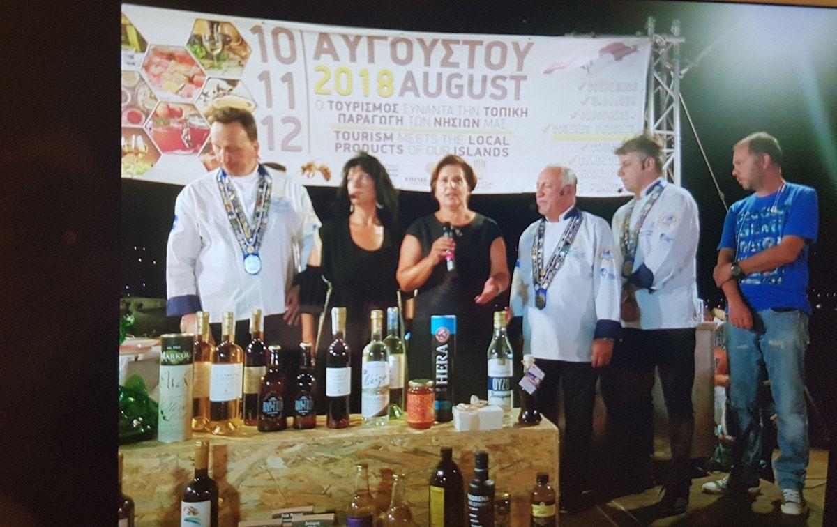 Χαιρετισμός της Περιφερειάρχη στην έναρξη των εκδηλώσεων «Ο τουρισμός συναντά την τοπική παραγωγή των νησιών μας»