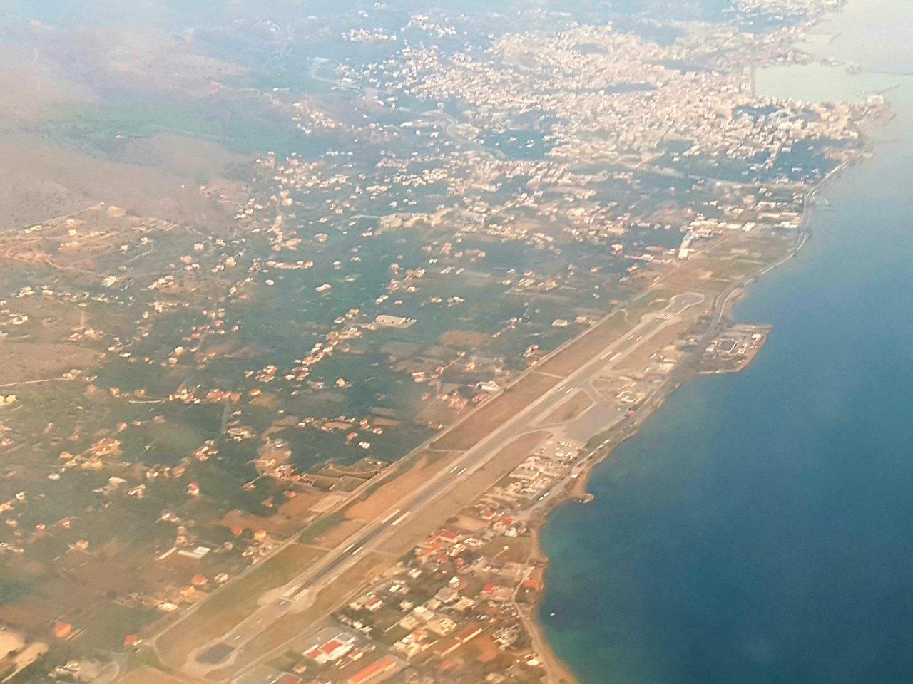 Αεροδρόμιο Χίου: Μελέτη μετατόπισης τμήματος παραλιακής οδού Χίου-Καρφά