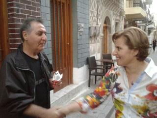 Επίσκεψη της Χριστιάνας Καλογήρου στη Χίο