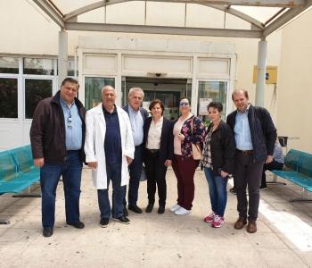 Χριστιάνα Καλογήρου: «Είναι πάντα για μας υψηλή προτεραιότητα η χρηματοδότηση έργων στο Σκυλίτσειο Νοσοκομείο»