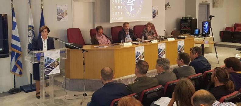 Ομιλία της Περιφερειάρχη σε συνάντηση ενημέρωσης με θέμα:  «Βιώσιμη Διαχείριση της Ελαιοκαλλιέργειας»