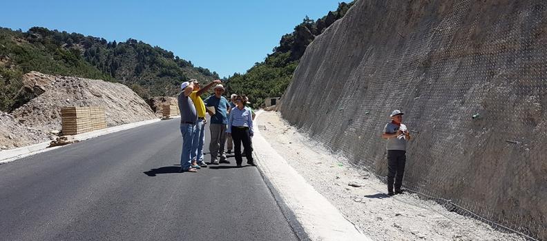 Επίσκεψη της Περιφερειάρχη στην περιοχή του Πλωμαρίου
