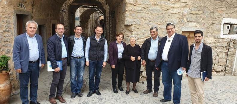 Επίσκεψη στα Μεστά και το Λιθί Χίου