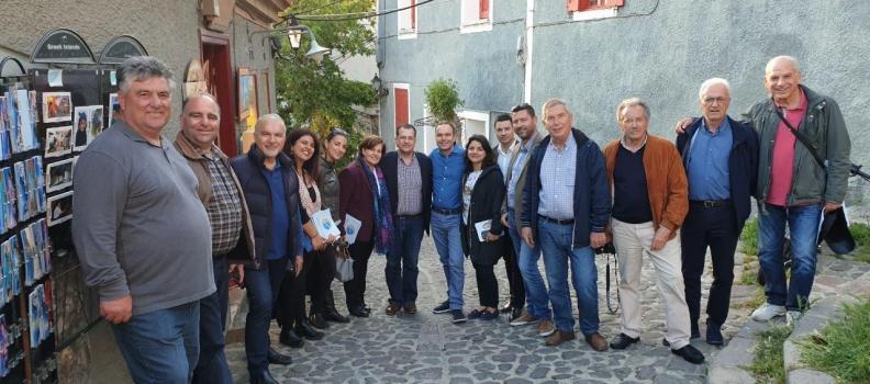 Επίσκεψη σε Μόλυβο, Πέτρα, Σκουτάρο και Στύψη