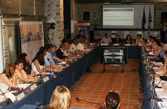 Εναρκτήρια ομιλία της Περιφερειάρχη στην 1η συνεδρίαση της Επιτροπής Παρακολούθησης του Νέου Επιχειρησιακού Προγράμματος της Περιφέρειας Βορείου Αιγαίου 2014 – 2020