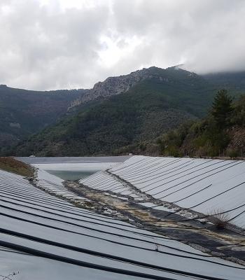 Τα έργα που υλοποιεί η Περιφέρεια Βορείου Αιγαίου στο Πλωμάρι επισκέφθηκε η Χριστιάνα Καλογήρου