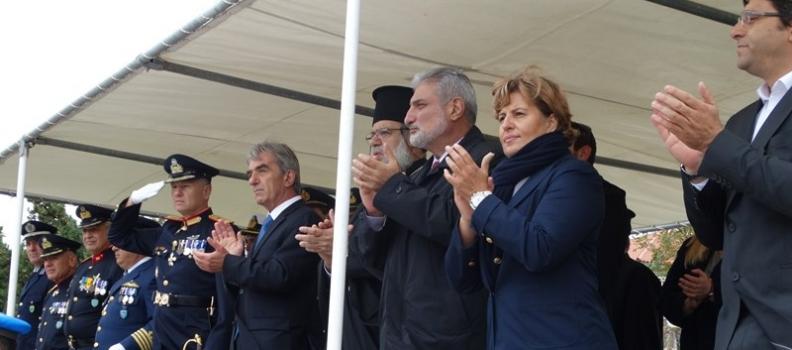 Στη Λήμνο για τον εορτασμό της εθνικής επετείου της 28ης Οκτωβρίου η Περιφερειάρχης Βορείου Αιγαίου