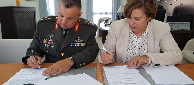 Υπογραφή Προγραμματικής Σύμβασης για τη βελτίωση των συνθηκών κυκλοφορίας στην επαρχιακή οδό Μύρινας-Κορνού