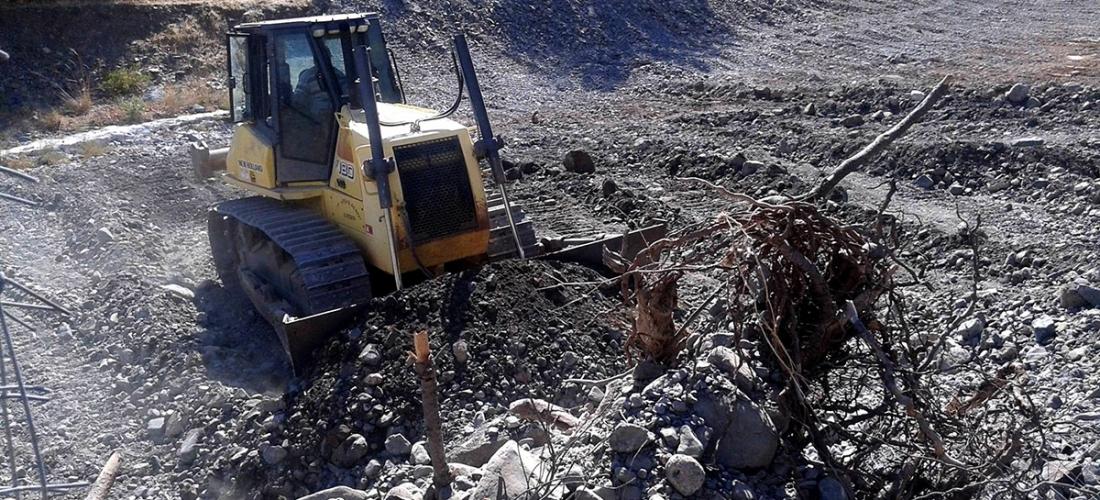 640 χιλ. ευρώ από την Περιφέρεια Βορείου Αιγαίου για τον καθαρισμό χειμάρρων σε Λέσβο και Ικαρία