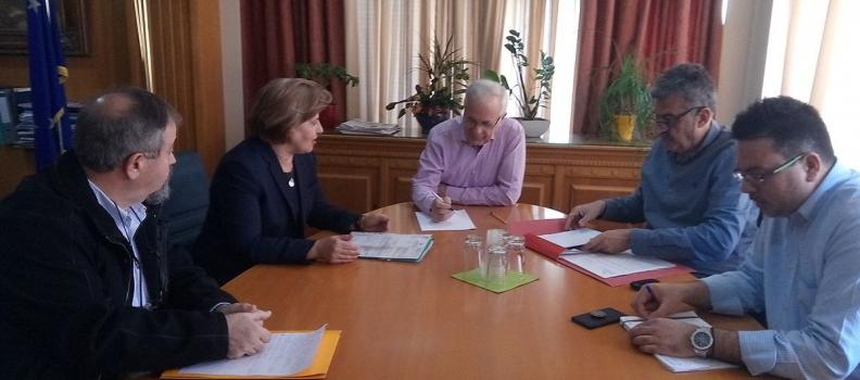 Μέτρα για τη στήριξη των κτηνοτρόφων ζήτησε η Περιφερειάρχης από τον Υπουργό Αγροτικής Ανάπτυξης