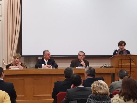 Ομιλία της Περιφερειάρχη στην εκδήλωση της Πανελλαδικής Οργάνωσης Γυναικών «Παναθηναϊκή» για τις προκλήσεις της Ευρώπης