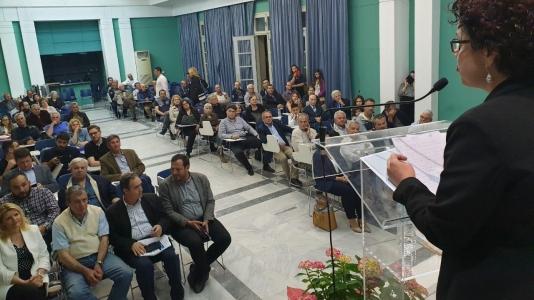 Εκδήλωση παρουσίασης των υποψηφίων της Π.Ε. Σάμου