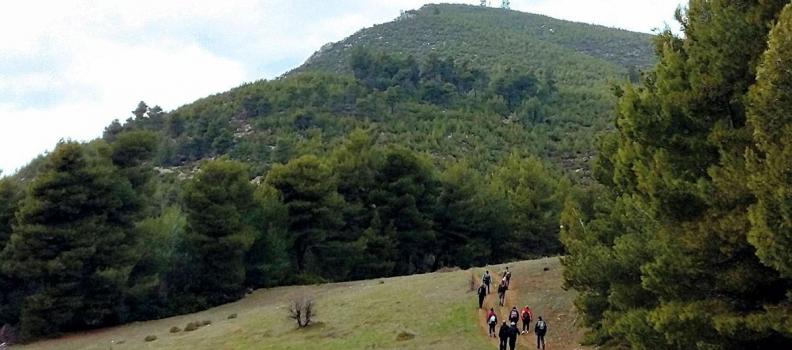 3 εκατ. ευρώ από το Ε.Π. της Περιφέρειας Βορείου Αιγαίου για περιπατητικά μονοπάτια