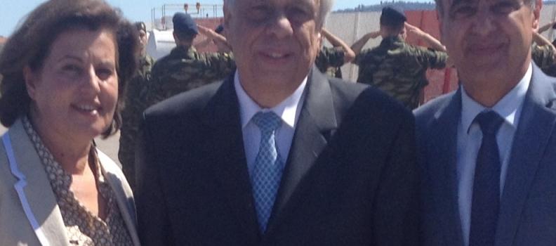 Το θέμα του αεροδρομίου της Χίου έθεσε η Περιφερειάρχης στον Πρόεδρο της Δημοκρατίας