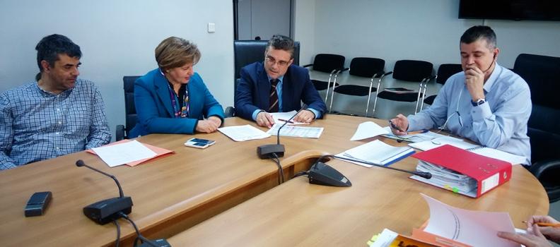 Για την πορεία υλοποίησης του ΕΣΠΑ 2007-2013, συναντήθηκε η Περιφερειάρχης με ανώτερα στελέχη του Υπουργείου Οικονομίας